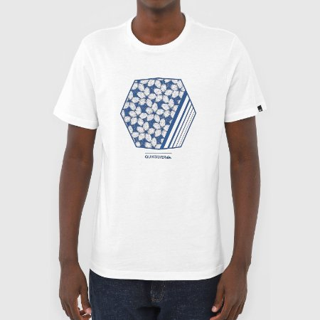 Camiseta Quiksilver Bubble Dreams Branco