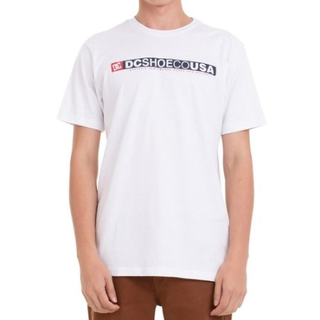 Camiseta DC Shoes Standard Branco