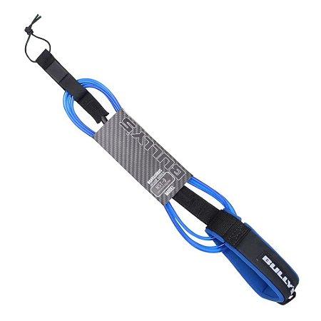 Leash Bullys 9' Silver - 6,5mm Longboard Calf Regular Azul