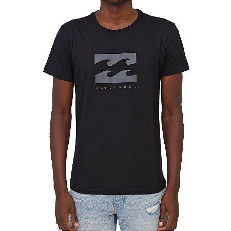 Camiseta Billabong Originals Secret Masculina Preto