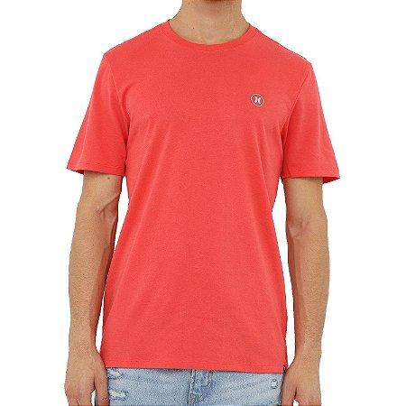 Camiseta Hurley Especial Basic Dri Fit Masculina Laranja