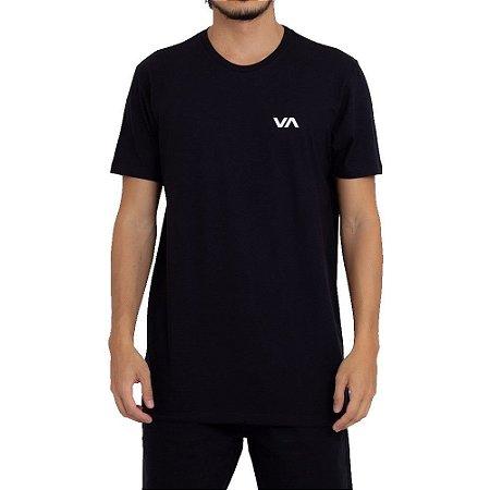 Camiseta RVCA VA Masculina Preto