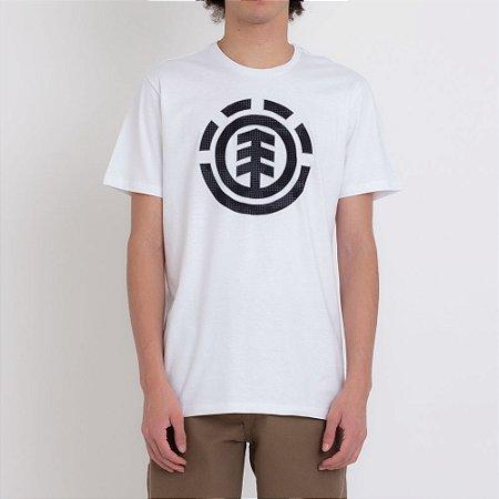 Camiseta Element Resist Icon Fill Masculina Branco