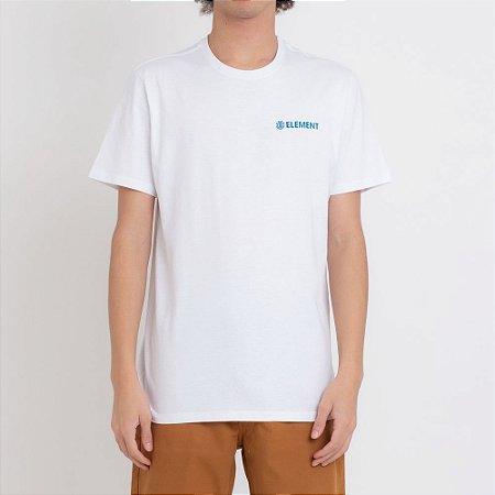 Camiseta Element Blazin Chest Masculina Branco