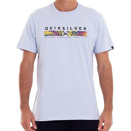 Camiseta Quiksilver Jungle Jim Masculina Azul Claro