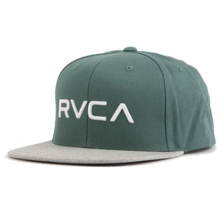 Boné RVCA Snap RVCA III Verde/Cinza