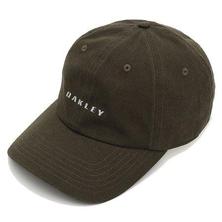 Boné Oakley 6-Panel Reflective Hat Verde Escuro