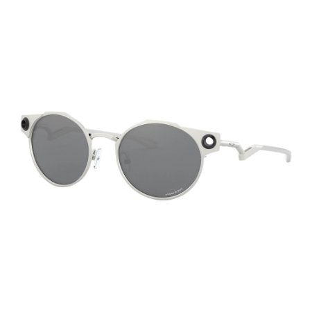 Óculos de Sol Oakley Deadbolt Satin Chrome W/ Prizm Black