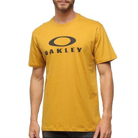 Camiseta Oakley O-Bark Masculina Amarelo Escuro
