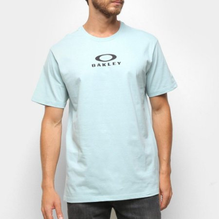 Camiseta Oakley Bark New Azul Claro