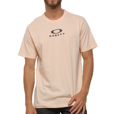 Camiseta Oakley Bark New Salmão