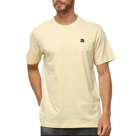 Camiseta Oakley Patch 2.0 Masculina Amarelo Claro