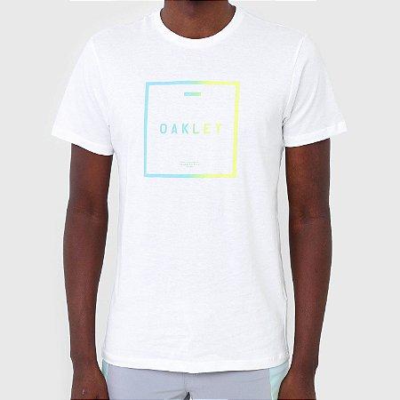 Camiseta Oakley Fade Masculina Branco