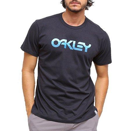 Camiseta Oakley Mark II 80'S GRX Masculina Preto