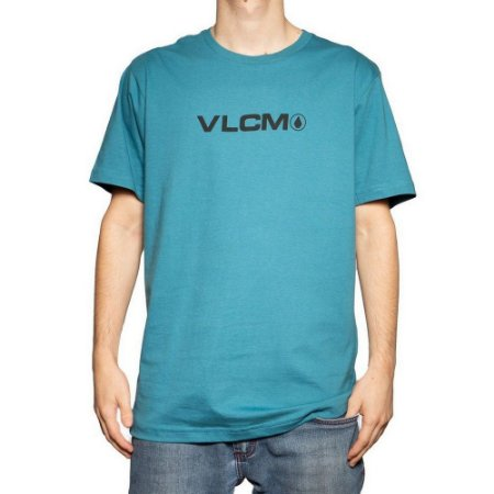 Camiseta Volcom Removed Masculina Verde Claro