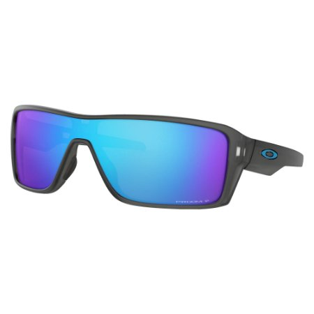 Óculos de Sol Oakley Ridgeline Matte Grey Smoke W/ Prizm Sapphire Polarized
