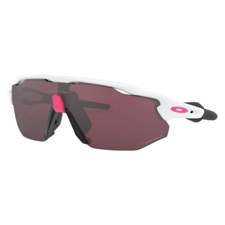 Óculos de Sol Oakley Radar EV Advancer Polished White W/ Prizm Road Black