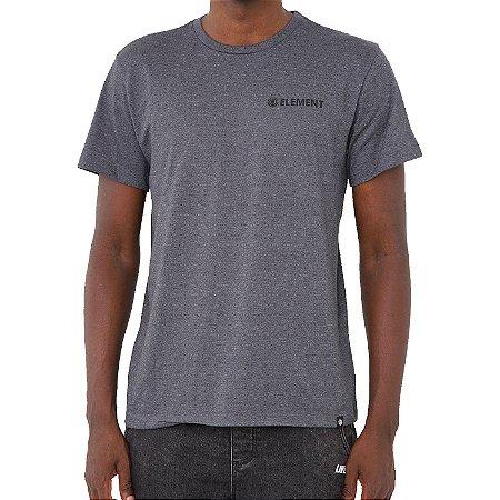 Camiseta Element Blazin Chest Masculina Cinza Escuro