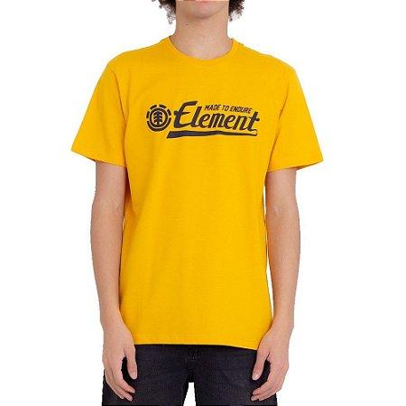 Camiseta Element Signature Masculina Amarelo