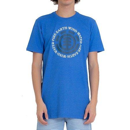 Camiseta Element Seal Masculina Azul