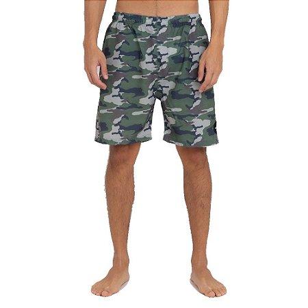 Bermuda RVCA Boardshort Army Colorida