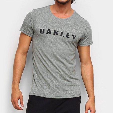 Camiseta Oakley O-Rec Bark Masculina Verde