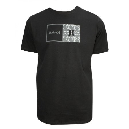 Camiseta Hurley Natural Masculina Preto