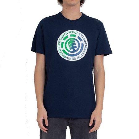 Camiseta Element Seal Green Blue Masculina Azul Marinho