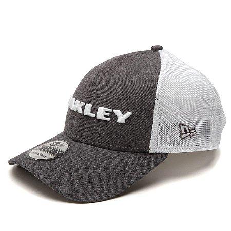Boné Oakley Heather New Era Hat Cinza
