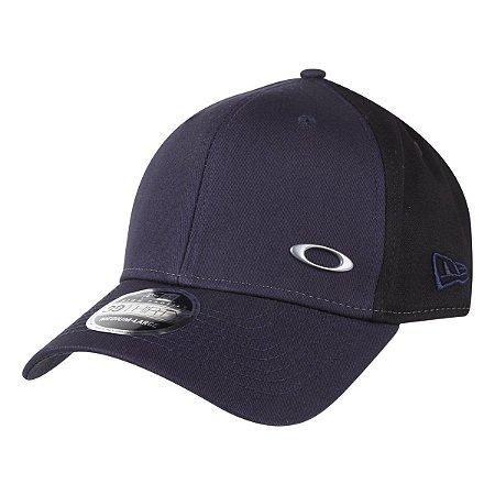 Boné Oakley Tinfoil Cap New Era Azul Marinho