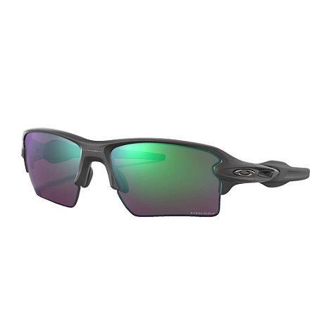 Óculos de Sol Oakley Flak 2.0 XL Steel W/ Prizm Road Jade