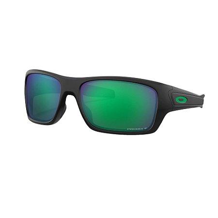 Óculos de Sol Oakley Turbine Matte Black W/ Prizm Jade Polarized