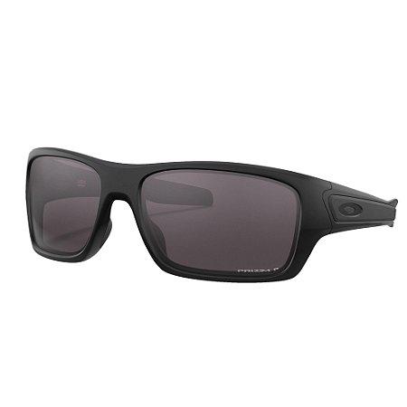 Óculos de Sol Oakley Turbine Matte Black W/ Prizm Grey Polarized