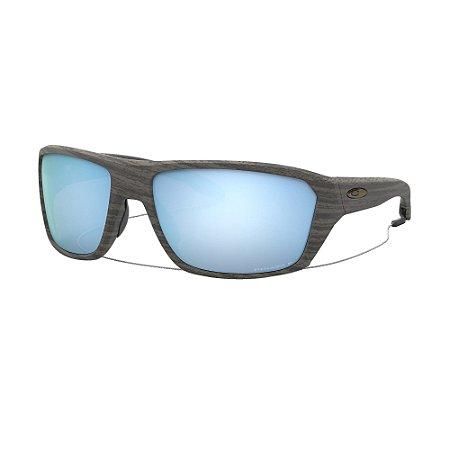 Óculos de Sol Oakley Split Shot Woodgrain W/ Prizm Deep Water Polarized