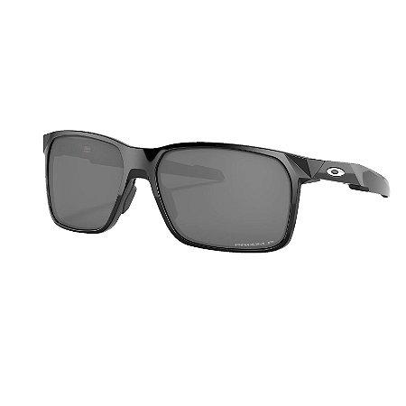 Óculos de Sol Oakley Portal X Polished Black W/ Prizm Black Polarized