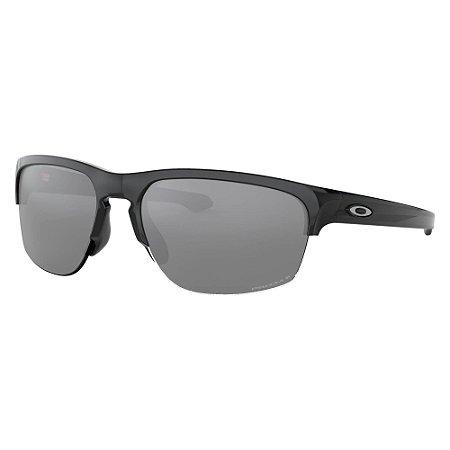 Óculos de Sol Oakley Sliver Edge Polished Black W/ Prizm Black Polarized