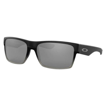 Óculos de Sol Oakley Two Face Matte Black W/ Chrome Iridium