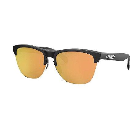 Óculos de Sol Oakley Frogskins Lite Matte Black W/ Prizm Rose Gold