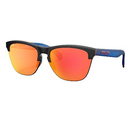 Óculos de Sol Oakley Frogskins Lite Matte Black Ink W/ Prizm Ruby