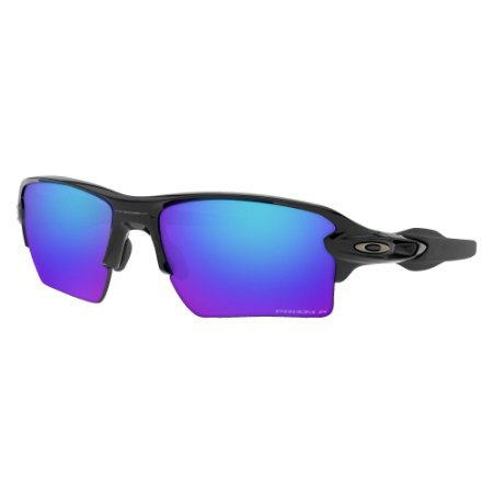 Óculos de Sol Oakley Flak 2.0 XL Polished Black W/ Prizm Sapphire Polarized