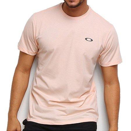 Camiseta Oakley Icon Rosa Claro