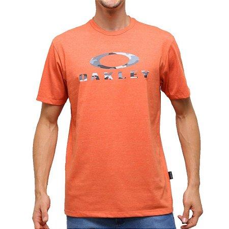 Camiseta Oakley Camo SS Laranja