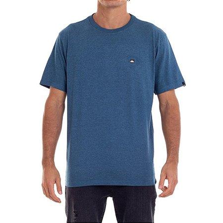 Camiseta Quiksilver Transfer Masculina Azul Escuro