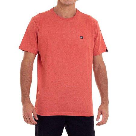 Camiseta Quiksilver Transfer Masculina Laranja