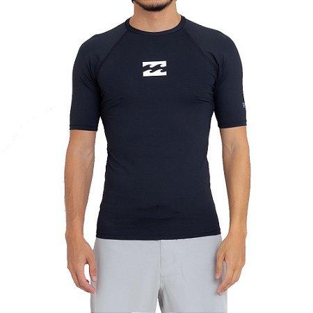 Camiseta Billabong Surf All Day Wave PF Preto