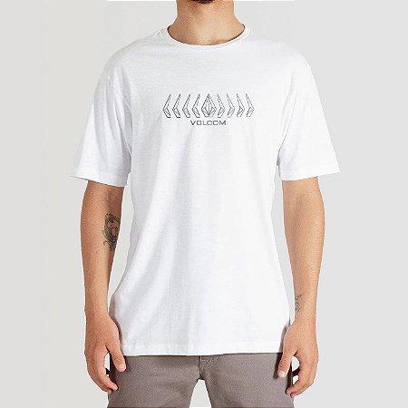 Camiseta Volcom Position Masculina Branco