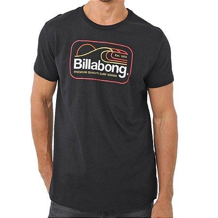 Camiseta Billabong Dive Masculina Preto
