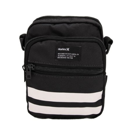 Bolsa Hurley Shoulder Bag Block Party Preto