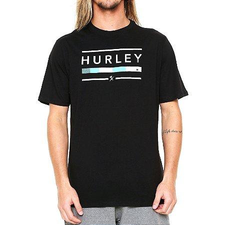 Camiseta Hurley Jockey Triblend Masculina Preto