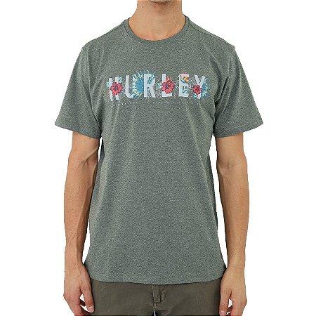 Camiseta Hurley Flourish Masculina Verde